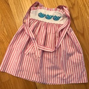 Kelly Kids 3 GUC Whale sun dress